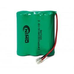 Pack de baterías 3,6V 1600mAh NI-MH  AA x 3