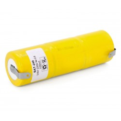Pack de baterías 3,6V 2200mAh Ni-Cd RC1/2D x 3