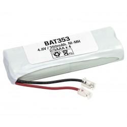 Pack de baterías 4,8V 400mAh NI-MH 2/3AAA x 4