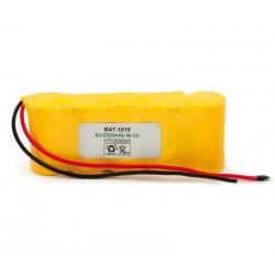 Pack de baterías 6V 2000mAh Ni-Cd