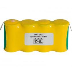 Pack de baterías 4,8V 4500mAh NI-MH
