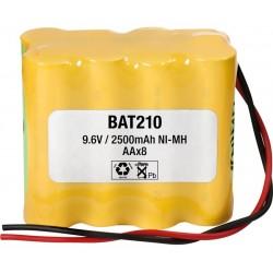 Pack de baterías 9,6V 2500mAh NI-MH AA X 8