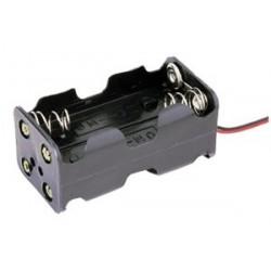 Portapilas para 4 pilas de 1'5V (6V)