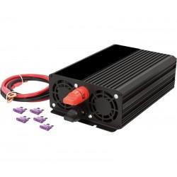 Inversor convertidor 12Vcc-230Vca / 1000W Onda Rectificada