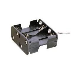 Portapilas para 8 pilas de 1'5V (12V) AA