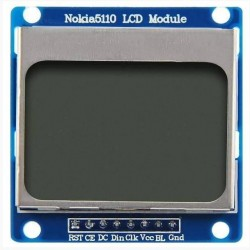 """Módulo LCD Nokia 5110 1.6 """" COLOR AZUL"""