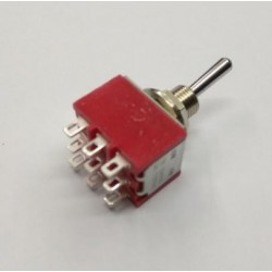 Conmutador de palanca 3C 2P para panel