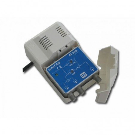 ALCAD AI-240 AMPLIFICADOR DE INTERIOR  UHF 24dB