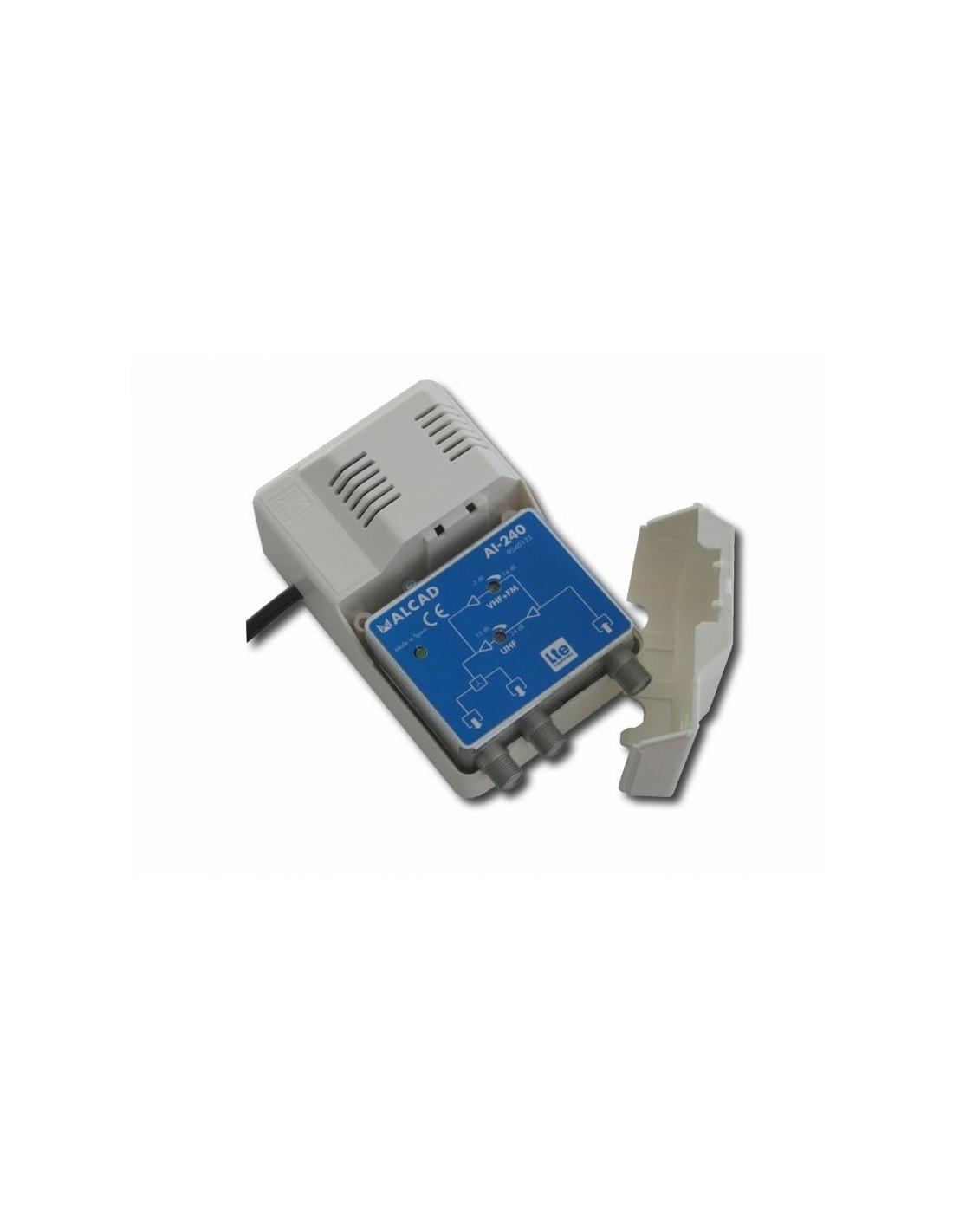 Alcad ai 240 amplificador de interior uhf 24db - Amplificador tv interior ...