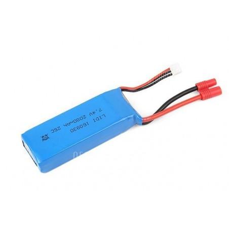 Batería Lipo 7,4v 2000mAh