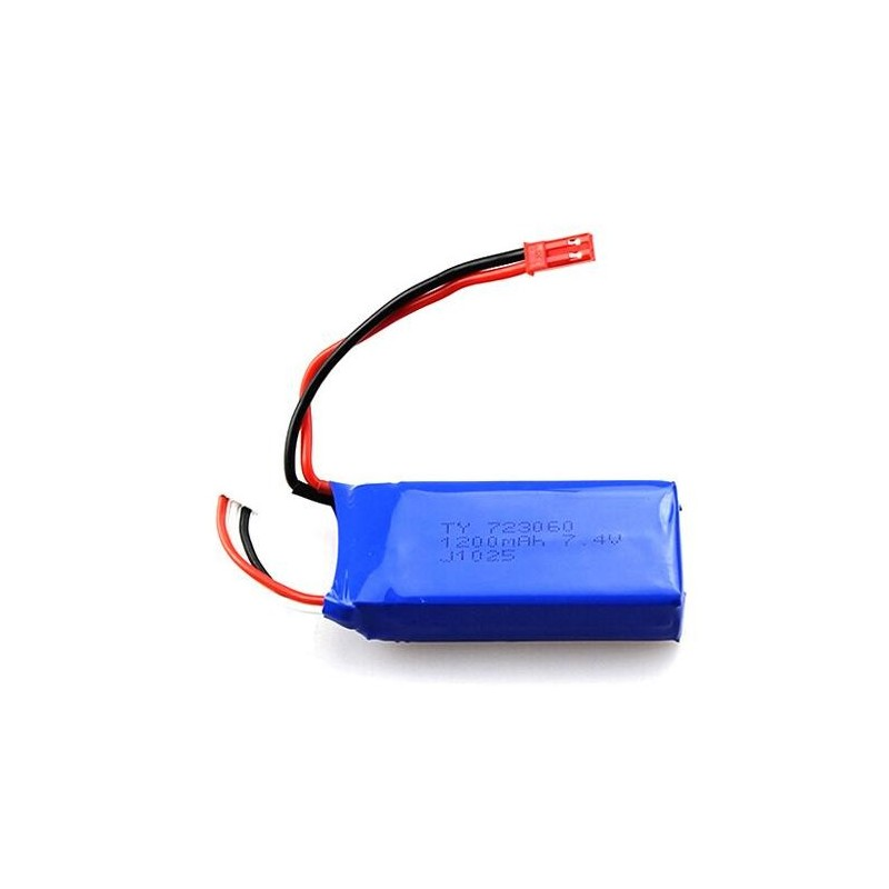 Batería Lipo 7,4v 1200mAh