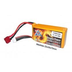 Batería Lipo 11,1v 1300mAh