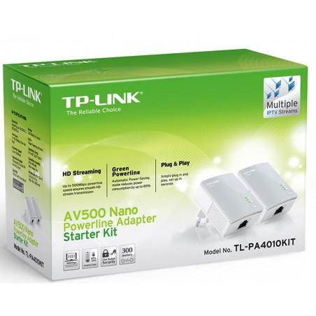 TL-PA4010KIT  PLC TP-LINK 500 Mbps