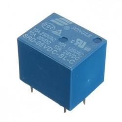 Relé miniatura SPDT  5V 10A 1 contacto conmutado
