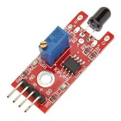 Modulo detector de fuego. Sensor de llama