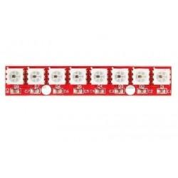 MODULO X8 LED RGB WS2812B SMD5050