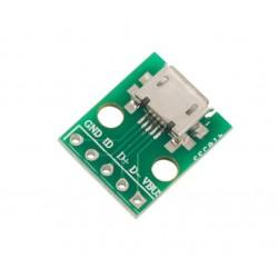 Adaptador Micro Usb a DIP Mini Modulo Arduino