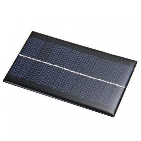 Mini panel solar de 6V 1W 110 x 60 x 3mm