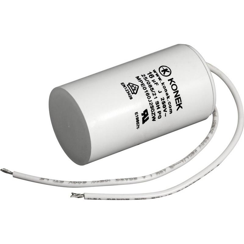 Condensador de arranque motor 16uF/250V AC