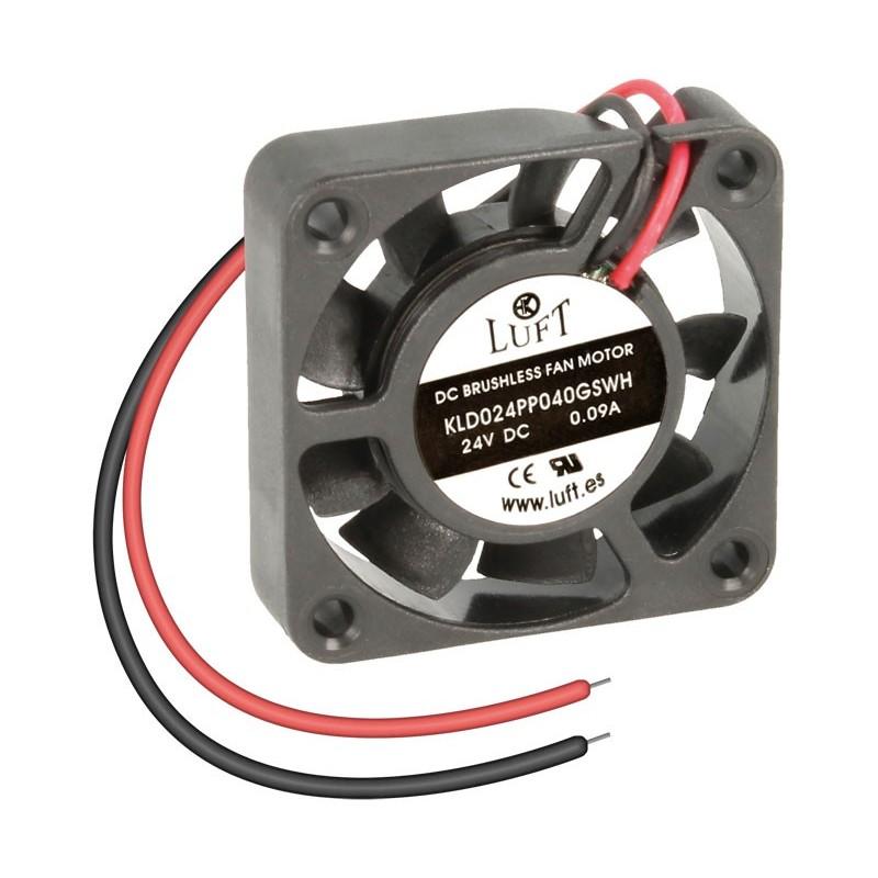 VEN034 Ventilador 40x40x10 24v 2 cables