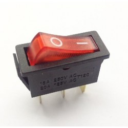 Interruptor unipolar luminoso 16A / 250V