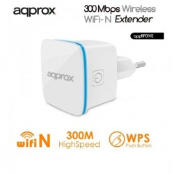 REPETIDOR WIFI 300 Mbps AQPROX