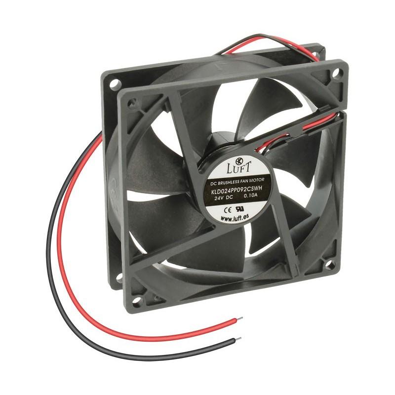 VEN043 Ventilador 92x92x25 24v 2 cables