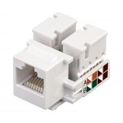 Conector RJ45 Cat.6 UTP hembra panel