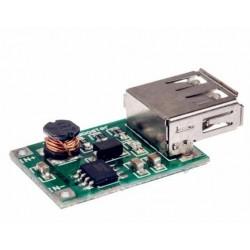 Módulo boost convertidor 2V-5V /5V 1200mA sal. USB