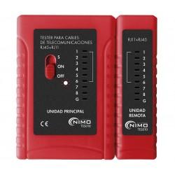 Tester de conexiones RJ11-RJ12-RJ45