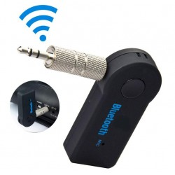 Adaptador audio bluetooth para coche jack 3,5mm