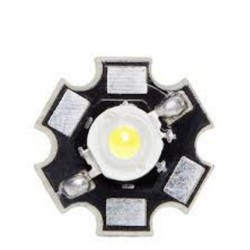 DIODO LED BLANCO FRIO 3W 45000ML 45X45 DISIPADOR