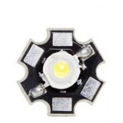 DIODO LED BLANCO FRIO 3W 45000ML 45X45 DISIPADOR