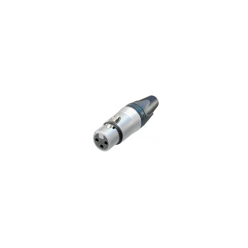 Neutrik NC 3 FXX Conector XLR 3 pins aéreo hembra