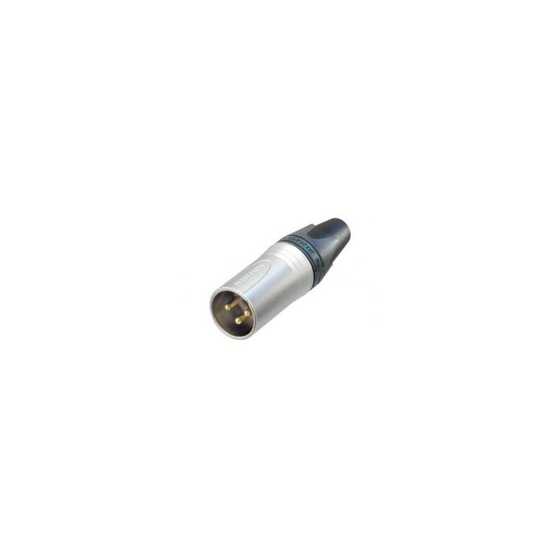 Neutrik NC 3 MXX Conector XLR 3 pins aéreo Macho