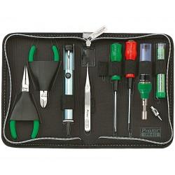 Kit básico de herramientas con soldador a gas