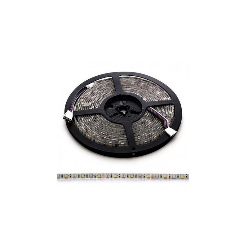 Tira de 360 LEDs SMD 5050 5M RGB-BLANCO CAL. IP65