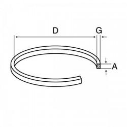 CC012 CORREA CASSETTE D 55,60mm 1,20mm X 1,20mm