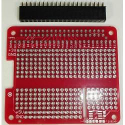 Placa PCB para prototipos con Raspberry Pi 2/3.