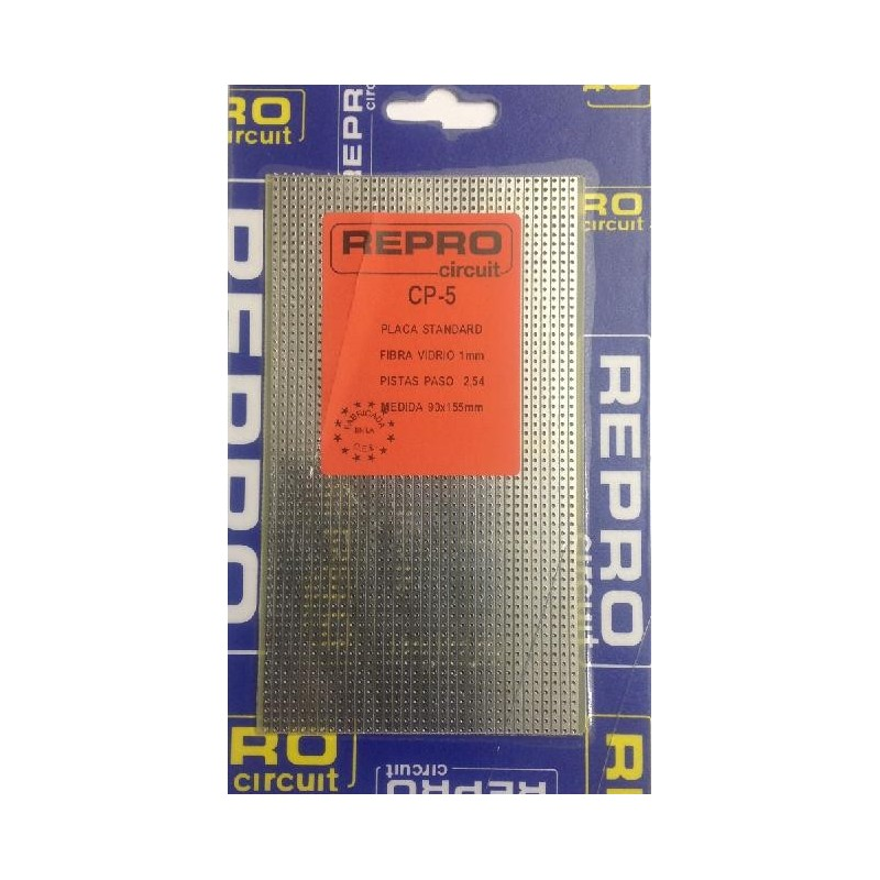 CP-5 Placa de pistas 90x155mm