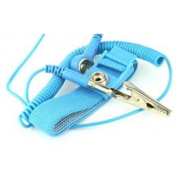 Pulsera antiestática de, color azul