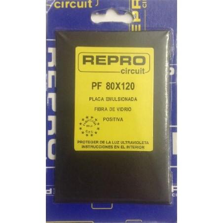 Placa positiva fibra 80X120