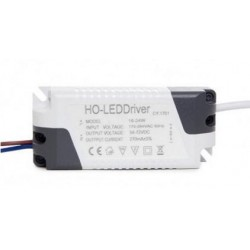 Driver no dimable para placas LED de 24W