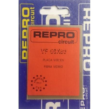 Placa virgen fibra 60x80