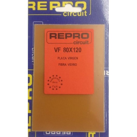 Placa virgen fibra 80x120