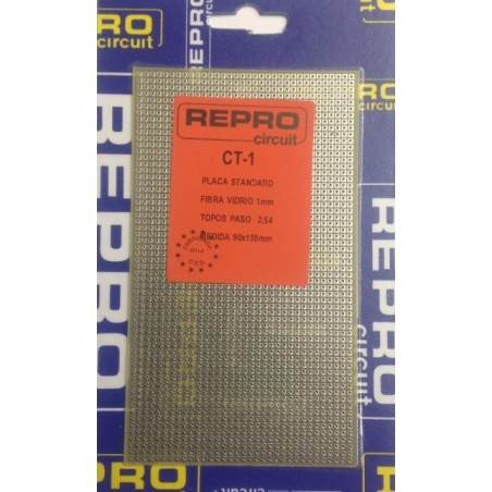 CT-1 Placa de topos 90x155mm