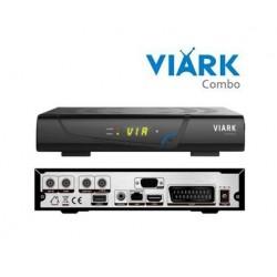 Receptor satélite HD VIARK COMBO
