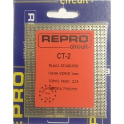 CT-2 Placa de topos 77x90mm