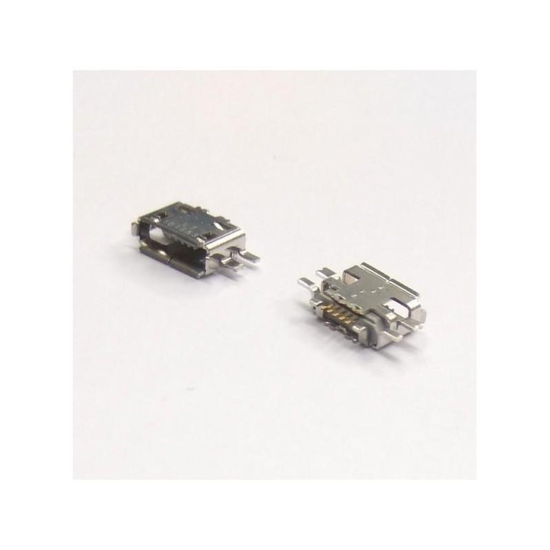 CONECTOR MICRO USB HEMBRA SMD