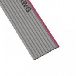 CABLE PLANO GRIS 10 CONDUCTORES